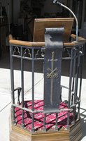 Wrought-Iron Pulpit